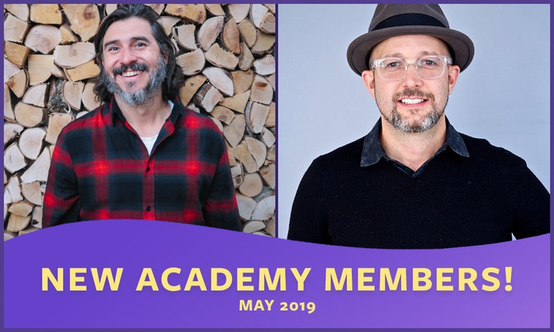 New Real Time Academy Members - May 2019