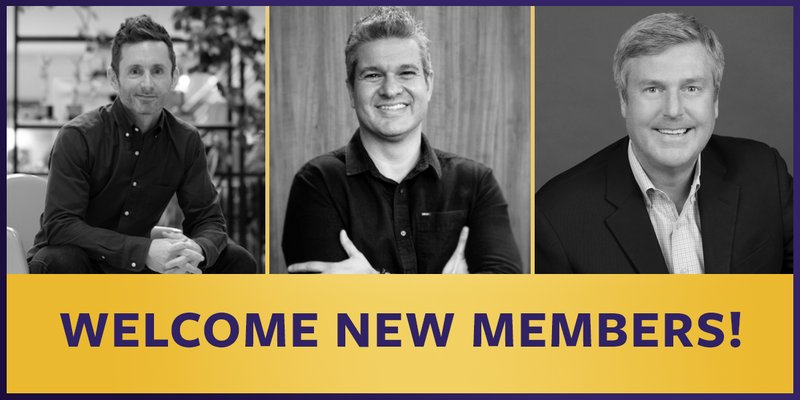 New Real Time Academy Members - March 2019
