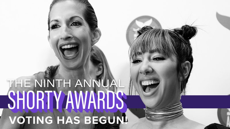 Announcing the influencer nominees for the 9th Annual Shorty Awards!